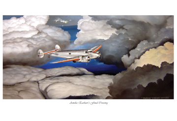 Amelia Earhart's Final Crossing by Marc Stewart